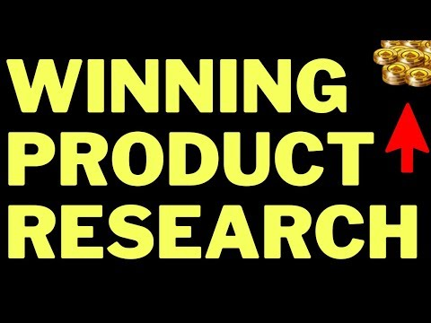 Dropshipping Product Research (Find Secret Winners) thumbnail