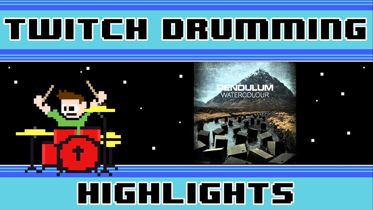 Pendulum Watercolour Drum Cover The8bitdrummer Youtube
