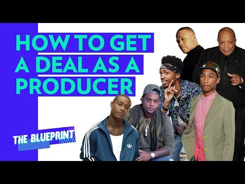 Dr. Dre, Pharrell, Quincy Jones & How To Get Signed As A Producer
