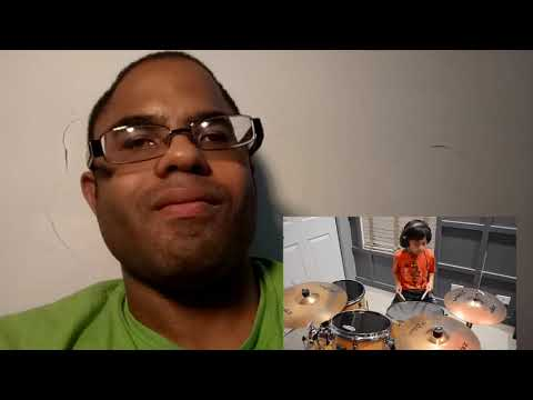 Reaction to mightymousedex on drums set