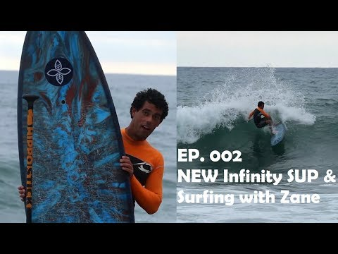 Small Wave SUP Surfing With Anthony And ZANE