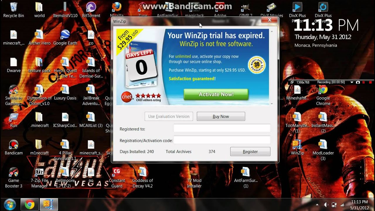 How To Bypass Winzip without Having To Pay For It +Winzip Download