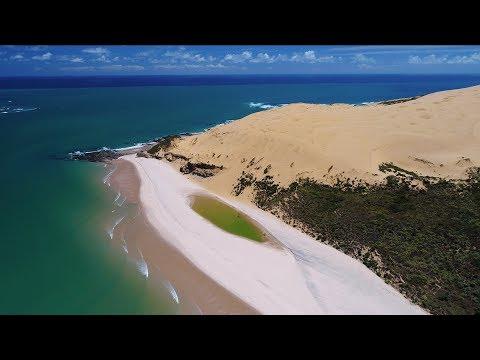 Opononi Sandunes, Te Paki Sand Dunes, Houhora Heads and Cape Reinga : 4K DJI Phantom 4 Pro