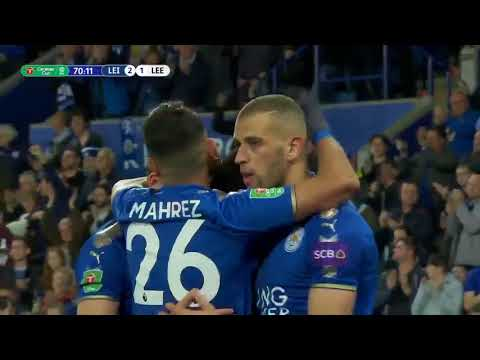 Leicester City vs Leeds Utd (3-1) – All Goals & Highlights 24/10/2017 HD