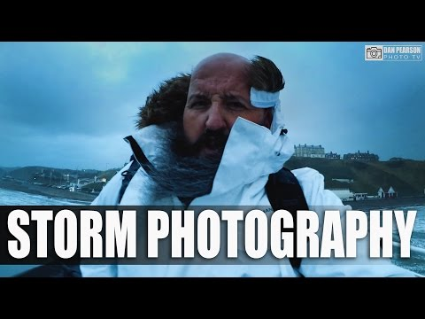 LANDSCAPE PHOTOGRAPHY - Photographing in bad weather, wind & storm! Shot using GoPro Hero 5