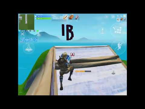 Just playing fortnite on mobile