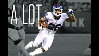 "Saquon Barkley - ""a lot"" ᴴᴰ (2018 Giants Rookie Season Highlights)"