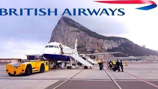 Gibraltar's Crazy Airport - Is it Dangerous ?
