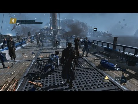 Assassin's Creed Rogue North Atlantic Free Roam