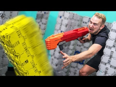 NERF Don't Knock it Over Challenge!