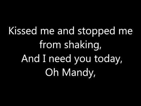 Lyrics containing the term: mandy