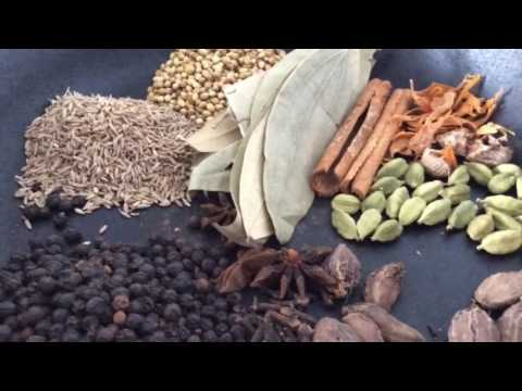 Homemade Garam Masala Recipe.How To Make Garam Masala Easily..Indian Spices.