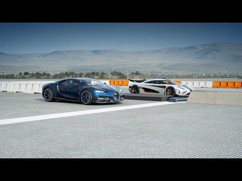 *NEW* 2018 Bugatti CHIRON vs Koenigsegg ONE:1 Drag Race! Forza 7