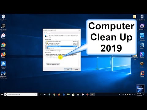 How to Clean your Computer 2019 - Faster Laptop Speed -  Free Windows Apps