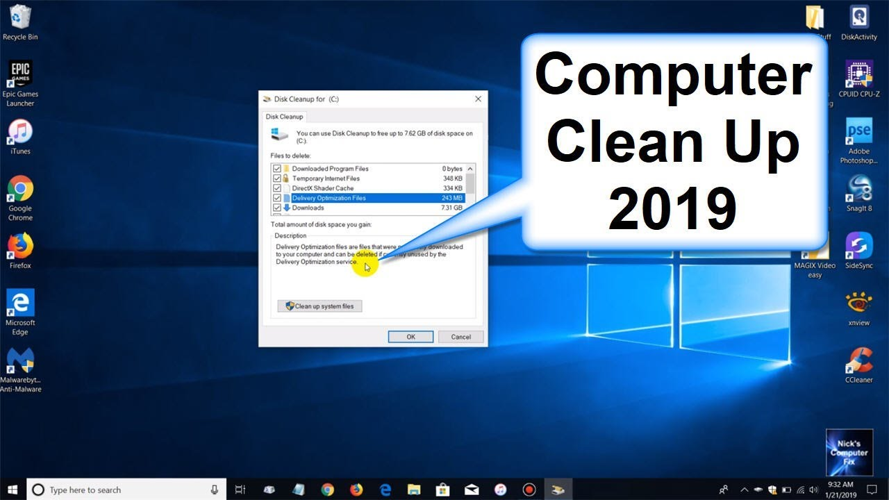 free software to clean your computer