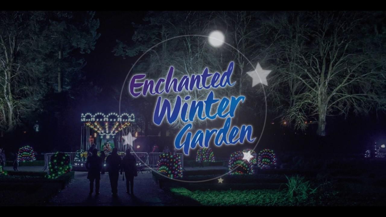 enchanted winter garden antrim castle gardens youtube