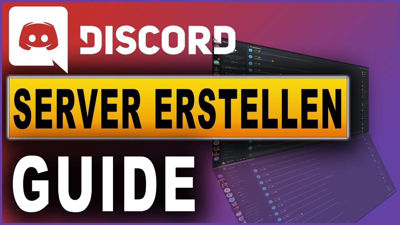 Discord Server erstellen und einrichten  Discord Tutorial