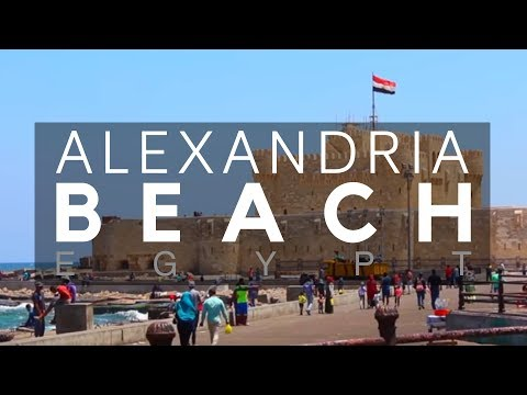 Alexandria Beach, Egypt - Alexandria - Egypt Holiday - Spending the Holiday on the Mediterranean Sea