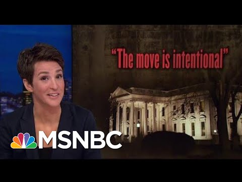 Donald Trump Disregard For Congressional Oversight Untenable In America | Rachel Maddow | MSNBC
