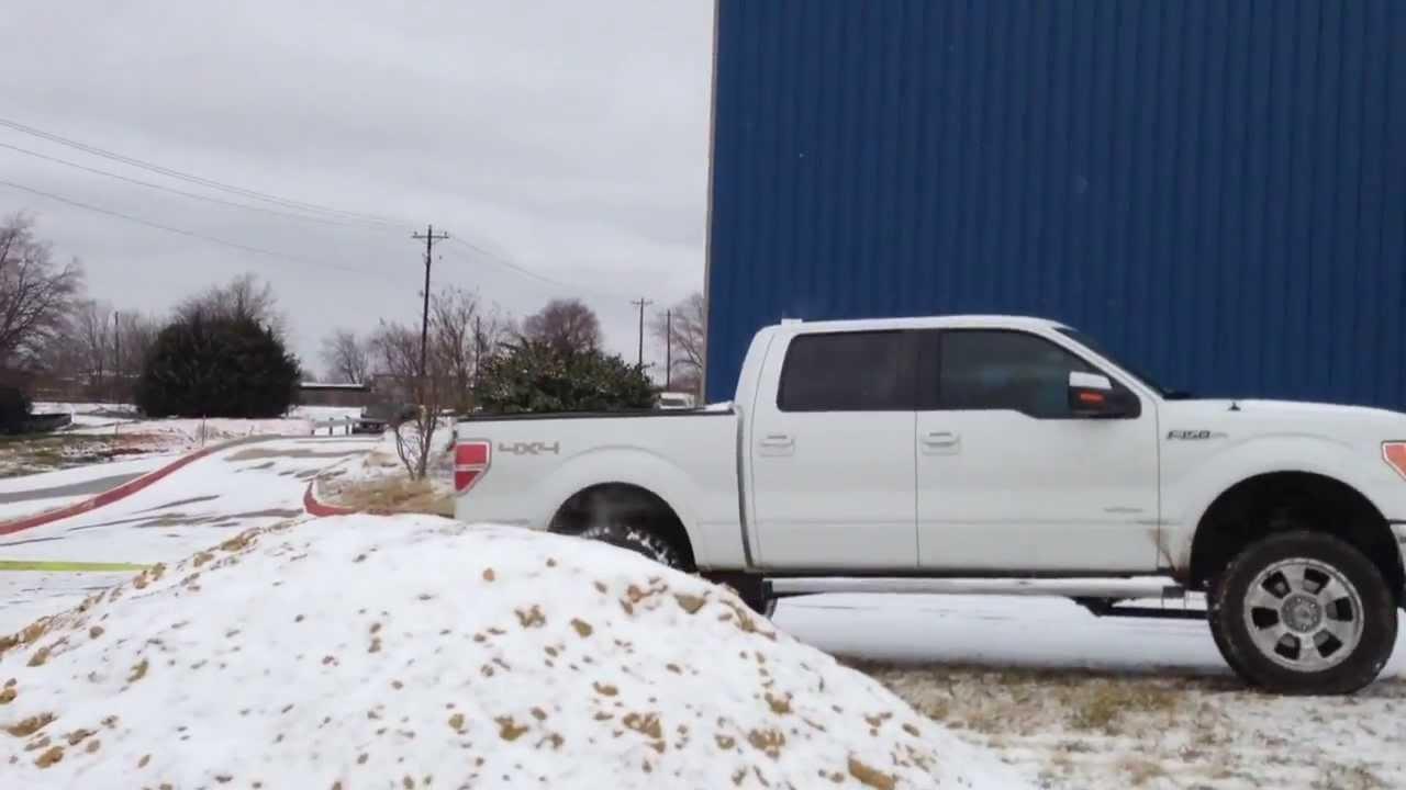 Ford pulling semi
