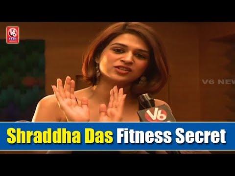 Shraddha Das Exclusive Interview   Reveals Her Fitness Secret   V6 News
