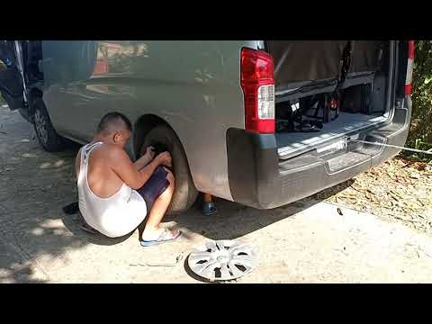 How To Change Wheels In My Nv350 Nissan Van