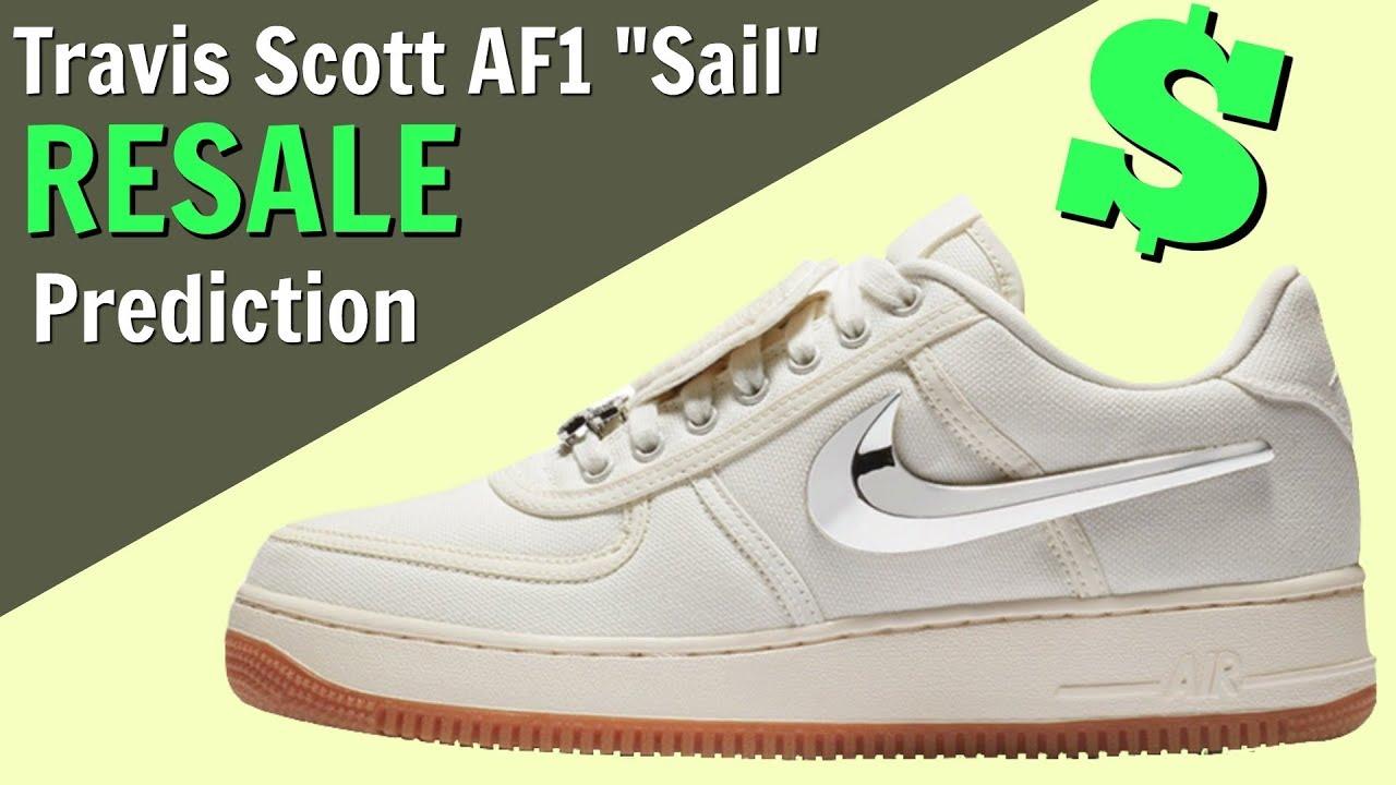 size 40 b6aaf 4dfc0 Resale Prediction  Should You Buy The Travis Scott Air Force 1 Low