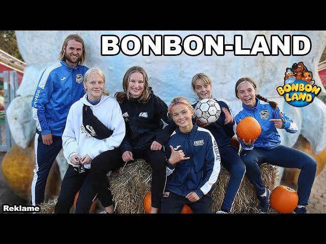 MED PIGERNE I BONBON-LAND!
