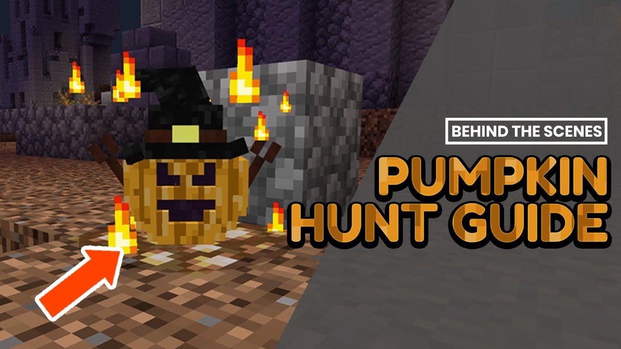 Cubecraft Halloween Hunt 2020 CubeCraft Pumpkin Hunt Guide   All 12 Locations! 2020 (Bedrock