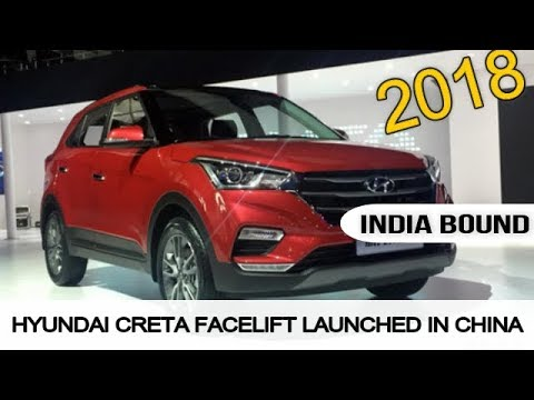 2018 hyundai creta facelift.  2018 india bound 2018 hyundai creta facelift launched inside hyundai creta facelift