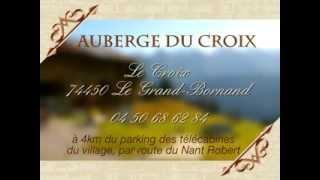 Auberge du Croix Le Grand Bornand 74