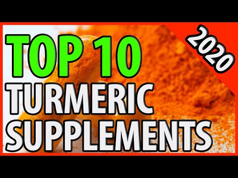 Best Turmeric Supplement 2020 | TOP 10 Turmeric Pills