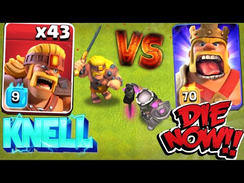GET UP AND FIGHT ME!! .. Super Barb Vs Champ King!