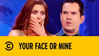 Jimmy Carr Flirts With Geordie Shore's Chloe Ferry | Your Face Or Mine