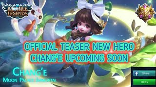 Official Teaser New Hero Chang'e Upcoming Soon