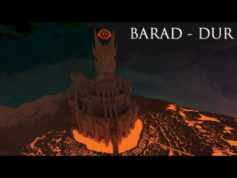 Minecraft Barad Dur Sauron39s Fortress Build Review YouTube