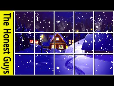 WINTER WINDOW SNOW SCENE (4K) Living Wallpaper with Ambient Fireplace Sounds