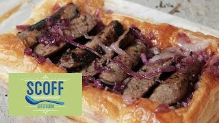 Sausage And Onion Tart | We ♥ Food S5e8/12