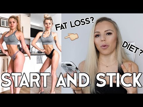 HOW TO STICK TO A DIET & WORKOUT PLAN