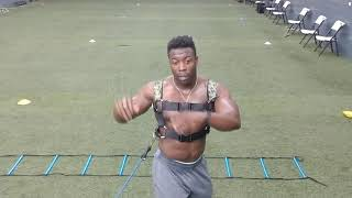 Malcom Solomon: Bounding Ladder Drills with the Ki-RO Core Trainer