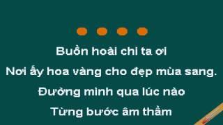 Hoa Co Vang Noi Ay Karaoke - Đàm Vĩnh Hưng - CaoCuongPro