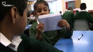 teachers tv  primary english   writing activities