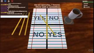 charlie charlie Bleistift Spiel Teil 1 auf roblox