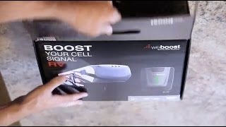 weBoost RV 4G Cell Phone Signal Booster Hands-On Easy Installation Guide