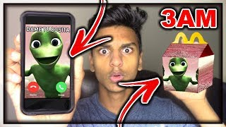 DO NOT ORDER THE DAME TU COSITA ALIEN HAPPY MEAL AT 3AM!! *OMG DAME TU COSITA CAME TO MY HOUSE*