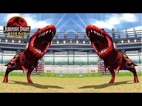 DEFEAT ULTIMATE BOSS TYRANNOSAURUS: Jurassic Park Builder - IOS Gameplay #28