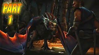 Telltale Game of Thrones: Episode 3 Walkthrough: Part 1 - Dragon Encounter! - (Gameplay / PC)