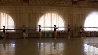 Открытый урок в балетной школе. г.Донецк. Июнь 2017