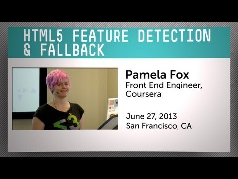 HTML5 Feature Detection & Fallback