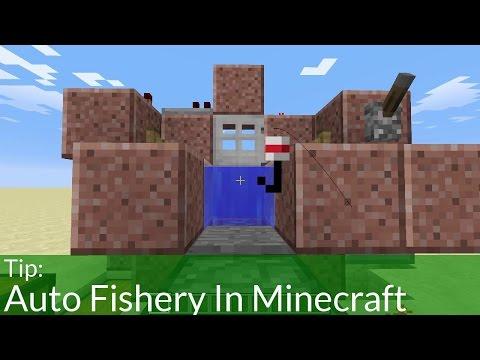 Tip: Auto Fishery In Minecraft